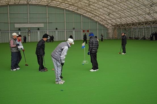 グラウンドゴルフ大会1