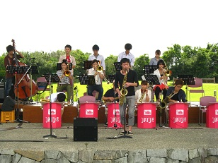 the Majestic Jazz orchestra