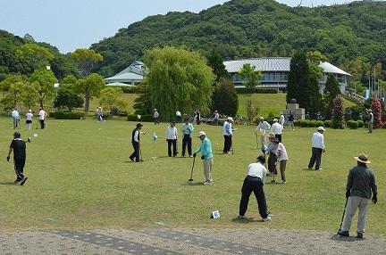 グラウンドゴルフ大会-3